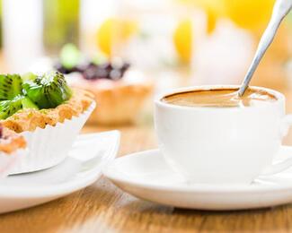 Новые вкусности в Tea & Coffee Garden