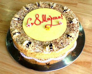Кофейня-кондитерская PeshNan дарит праздничное оформление тортов к 8 марта!