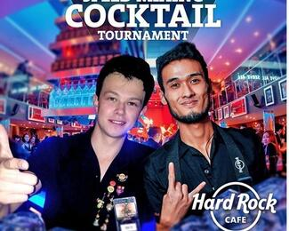 Speed Mixing Cocktail Tournament в Hard Rock Cafe Almaty