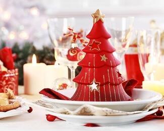 Новогодний корпоратив с выездом от Almaty-Catering