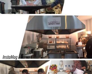 Вкусный дом «Ас-МАР» на открытии мастерской «Верного Хлеба»