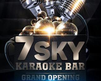 Официальное открытие караоке 7Sky