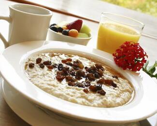 Вкусный завтрак в La Villa