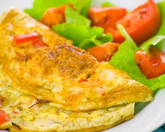 Завтраки в ресторане La Mare