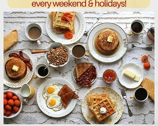 Бранчи в отеле «Дипломат» каждые выходные и праздничные дни!