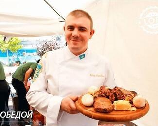 Шеф-повар Loft Cafe стал призером кулинарного турнира!