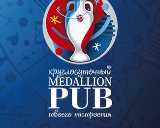 Трансляция ЕВРО-2016 в круглосуточном пабе Medallion