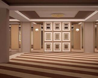 Новый интерьер банкетного зала Cairo