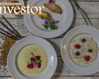 Новое меню завтраков в ресторане Investor
