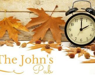 Новый график работы The John's Pub