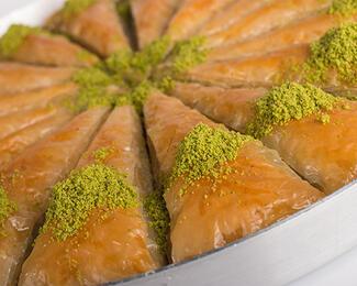 Настоящая турецкая пахлава в ресторане Ziyafet