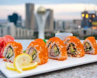 Беспрецедентная акция в ресторане DIP Lounge: скидка 50% на японскую кухню!