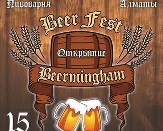 Beer Fest. Открытие гастро-паба Beermingham
