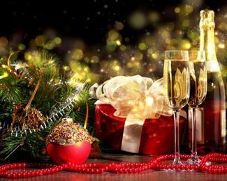 Новый год в ресторане IMPERATOR