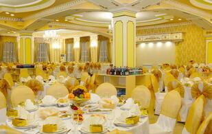 Европейский зал ресторана Туран на 350 персон