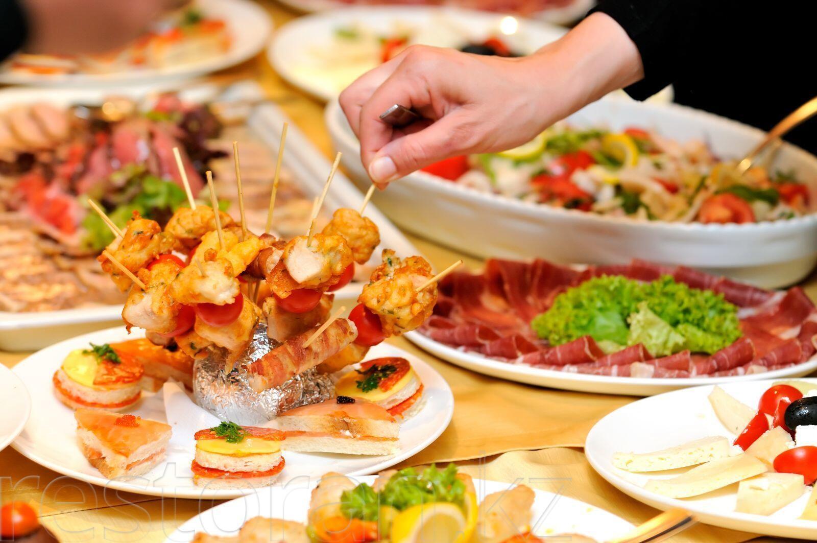 Фото кейтеринг блюда