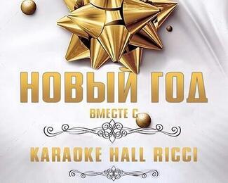 Новый год в karaoke Hall RICCI