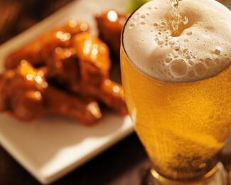 Идеальный дуэт! Говяжьи палочки и пиво в кафе China