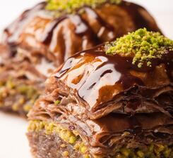 Баклава шоколадная