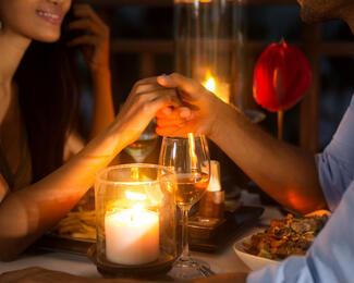 День влюбленных в ресторане Medeo