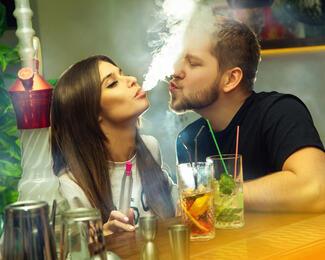 Скидка 20% на кальян в Smoke lounge