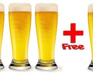 Акция на пиво от Checkpoint Brasserie 3+1!