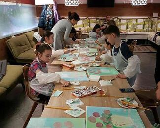 Детские мастер-классы в Ozz