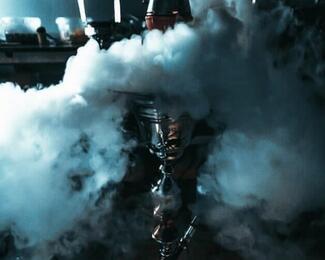 Дымное настроение от кафе «Махаббат»