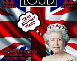Loud bar отмечает день рождения королевы Британской империи