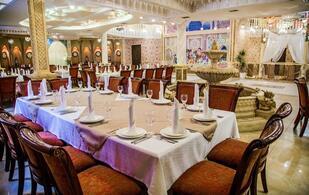 Казахский зал на 150 мест в комплексе «Жибек жолы»