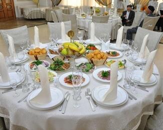 Торжества и банкеты в ресторане «Алтын Уя»