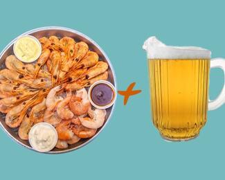 Boston Seafood + кувшин любого разливного пива в «Чечил пабе»