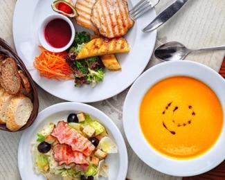 Комплексные обеды на каждый день в cafe Gold