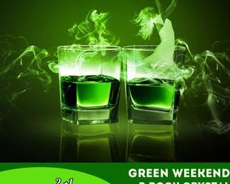 А с абсентом веселее! Green Weekend Part 2 в Rock Crystal