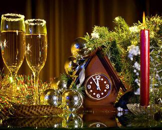 Новогодний корпоратив в банкетном зале «Карагай»