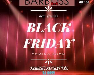 Hot black Friday вместе с Bar Boss