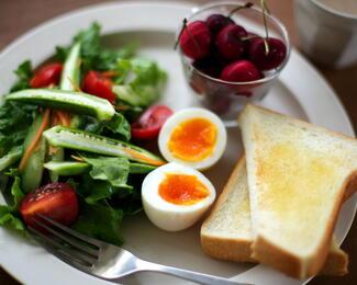 Завтраки в кафе «У Коробка»