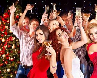 Новогодняя ночь в Rock Crystal