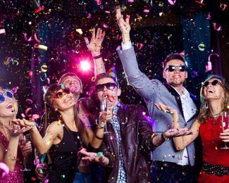 Новогодние корпоративы и новогодняя ночь в Rock Crystal!