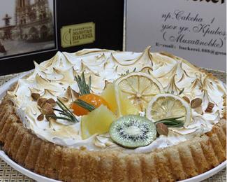 Новинка: лимонный пирог от кондитерской Backerei Papenfot