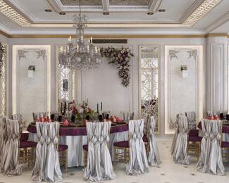 Новый зал в ресторанном комплексе «Достар Сарайы»