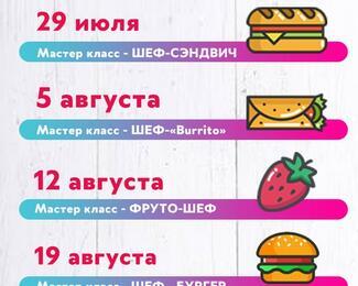 Детские кулинарные мастер-классы в кафе «Дирижабль»
