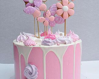 Яркие и праздничные тортики от Pink Cactus