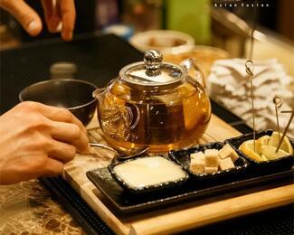 Приходите греться в ресторан Ganbei!