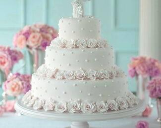Торт в подарок на свадьбу от Versal