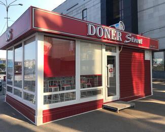 Кафе Doner Street открылось в центре города