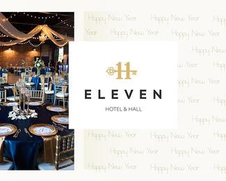 Новый год в Eleven Hotel & Hall