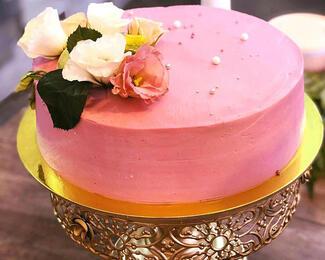 Свадебный торт от Pink Cactus