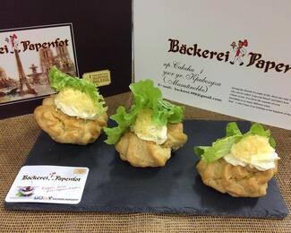 Фирменные бутерброды от кондитерской  Backerei