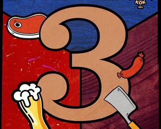 Barstol & Kok празднует свой третий день рождения!